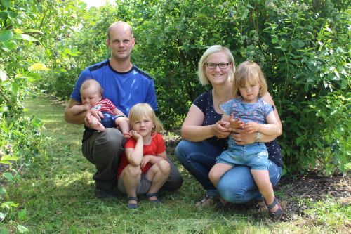 Familie Müller - Müllers Heidelbeeren